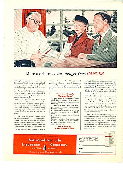 1951 Metropolitan Life Insurance Company AD (Image1)