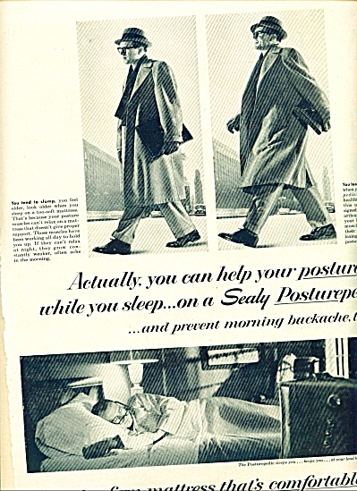 Sealy posturepedic mattress AD  1958 (Image1)