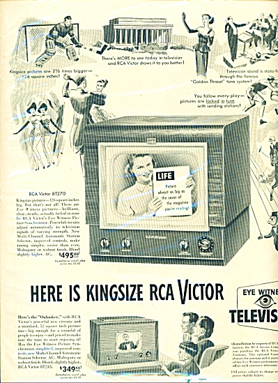 RCA Victor television ad - 1949 (Image1)
