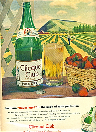 Clicquot Club ginger ale ad - 1946 (Image1)