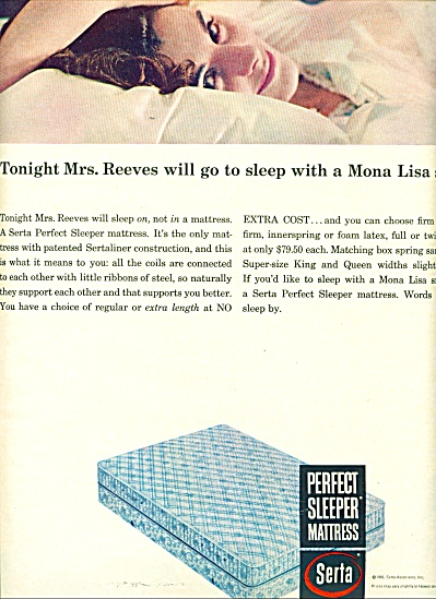 Serta, perfect sleeper mattress - 1965 (Image1)