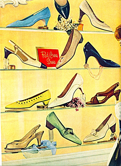 Red Cross  Shoes ad   1965 (Image1)