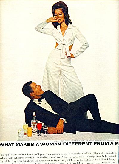 1965 Smirnoff AD Model DOLORES HAWKINS (Image1)