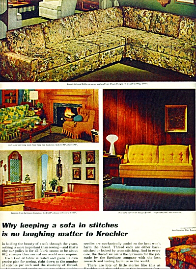 Kroehler furniture ad    1965 (Image1)