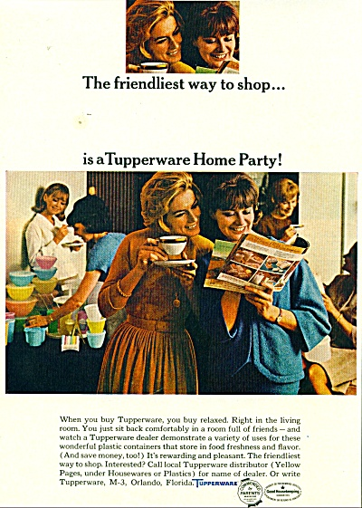 Tupperware ad  1965 (Image1)