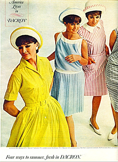 1965 Dacron Dupont Nan Leslie ++ Fashion Mode (Image1)