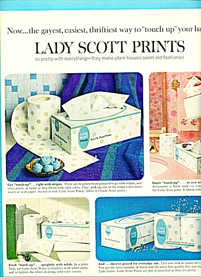 Lady Scott Prints ad -  1965 (Image1)