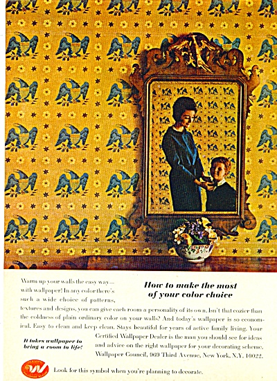 1965 Wallpaper council AD Certified Dealer (Image1)