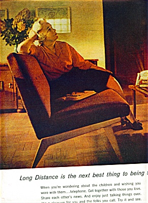 1965 BELL System TELEPHONE Mom Wanting Kids A (Image1)