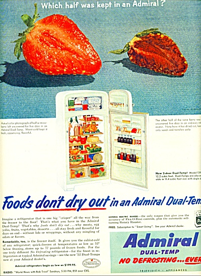 1952 Admiral Dual-temp refrigerator AD (Image1)