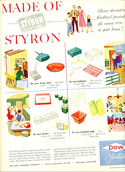 Dow plastics ad -  1952 (Image1)