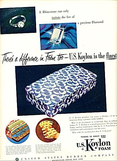 U.S. Koylon foam ad - 1952 (Image1)