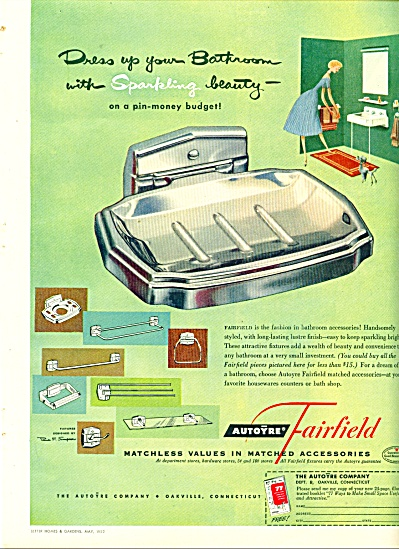 1952 Bathroom FIXTURES Autoyre Fairfield AD (Image1)