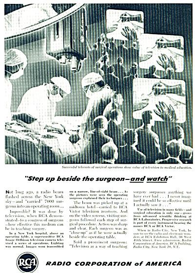 Radio Corporation of America ad - 1948 (Image1)
