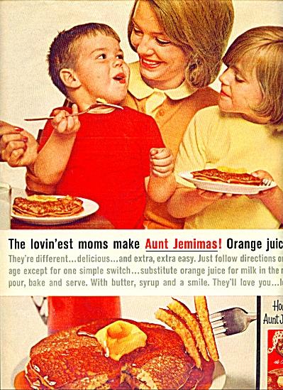 Aunt Jemima Pancakes ad   1956 (Image1)