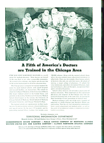 Territorial Information Department ad - 1949 (Image1)