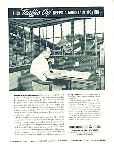 Bituminous coal institute ad - 1949 (Image1)