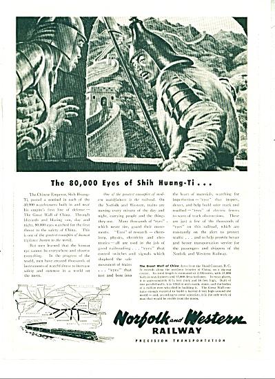 1949 Norfolk & Western Railway ad (Image1)