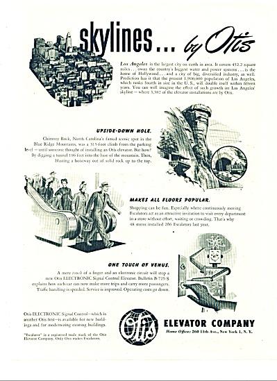Otis Elevator Company ad - 1949 (Image1)