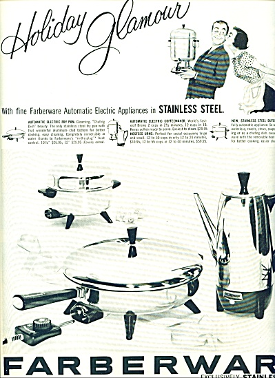 Farberware stainless steel ad - 1956 (Image1)