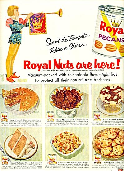 Royal Pecans ad - 1956 (Image1)