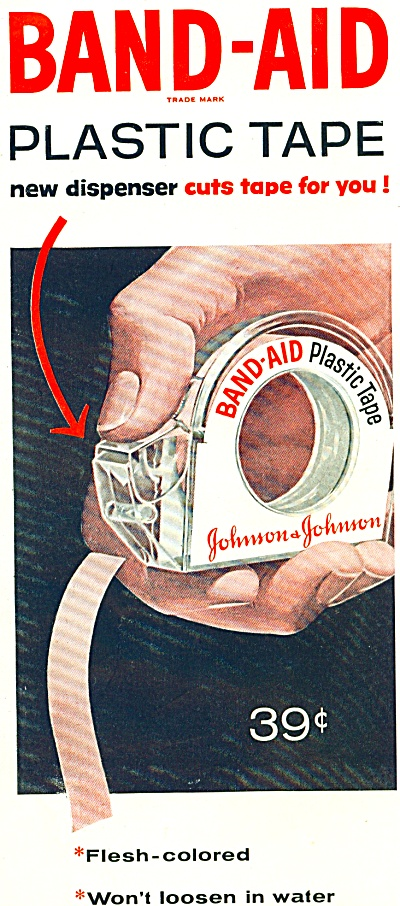Johnson & Johnson ad  - 1956 (Image1)