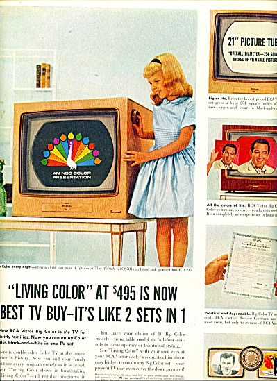 RCA Victor television ad - 1956 (Image1)