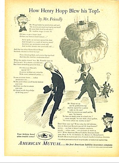 American Mutual insurance co. ad - 1947 (Image1)
