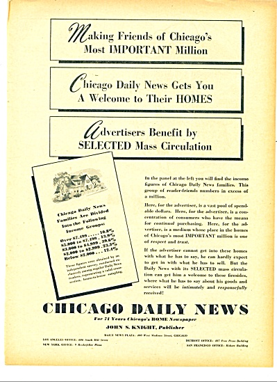 Chicago Daily News ad - 1947 (Image1)