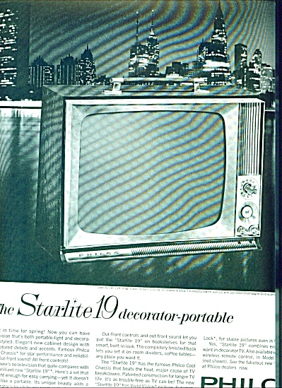 Philco  TV  ad   - 1963 (Image1)