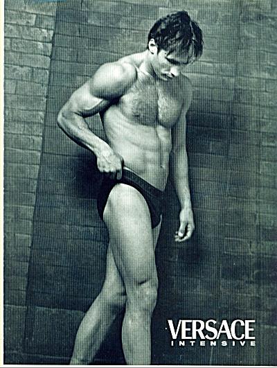Versace Intensive 2 p MENS UNDERWEAR BEEFY AD (Image1)