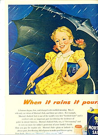 Morton's Salt  ad -  1946 (Image1)