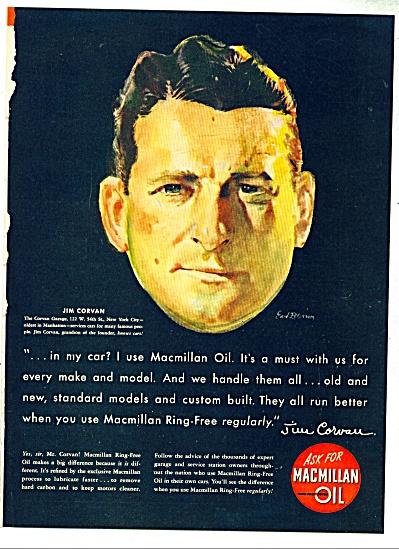 1948 MacMillan OIL Jim Corvan Earl Blossom AD (Image1)