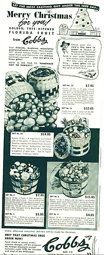 Cobbs  Ad  - 1953 (Image1)