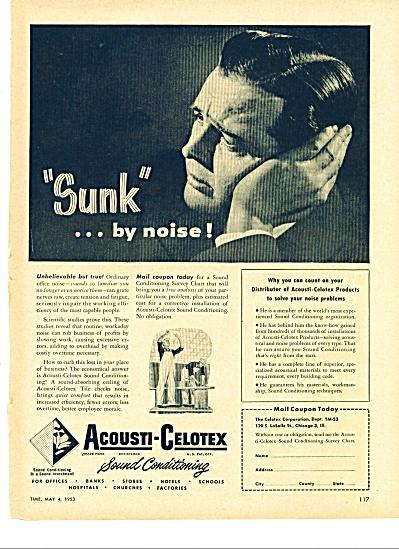 Acousti-Celotex ad - 1953 (Image1)