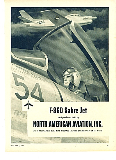 1953 N American Aviation AD F86 Sabre KIRK (Image1)
