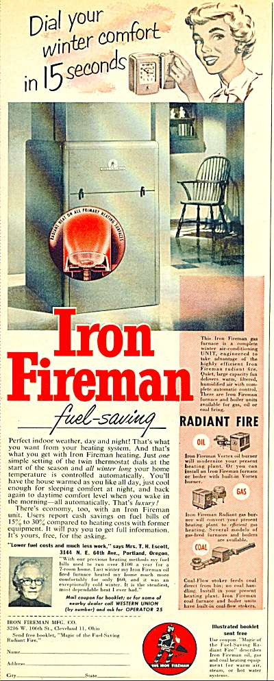 Iron Fireman Mfg. Co. 1952 (Image1)