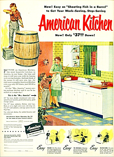 American Kitchen ad - 1952 (Image1)