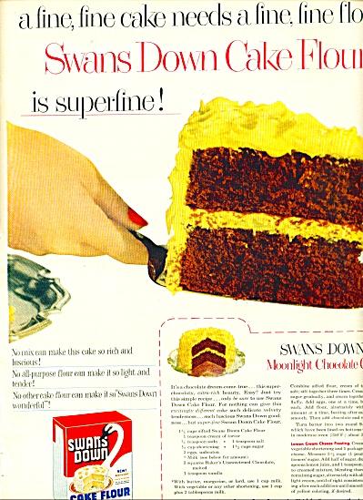 Swans Down cake flour ad - 1952 (Image1)