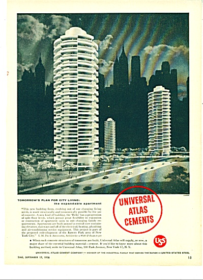 Universal Atlas Cements ad - 1956 (Image1)