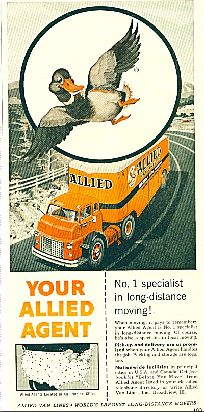 Your Allied Agent ad - 1956 (Image1)