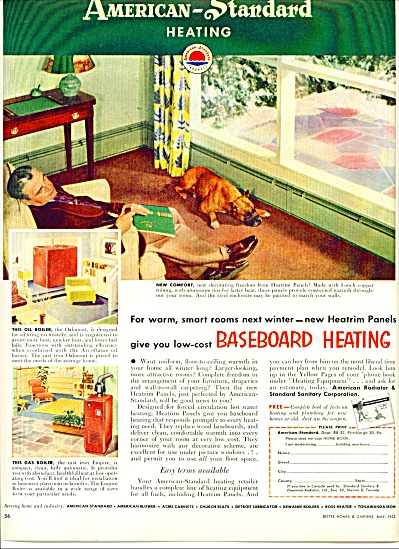 American StandardHeating ad - 1952 (Image1)