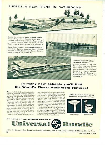 Universal Rundle ad - 1956 (Image1)