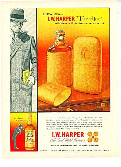 I.W. Harper whiskey ad - 1956 (Image1)