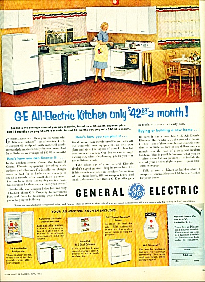 General Electric ad - 1952 (Image1)