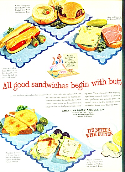 1952 American Dairy Association ad (Image1)