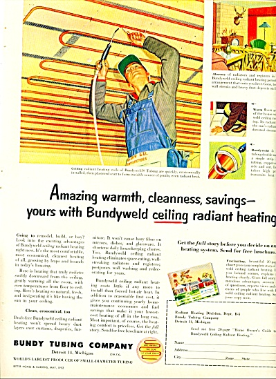 Bundy Tubing Company ad - 1952 (Image1)