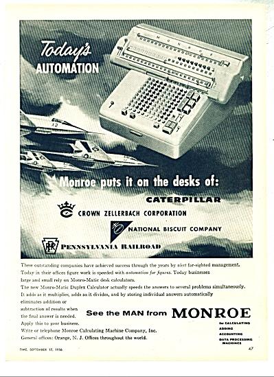 Monroe  ad - 1956 (Image1)