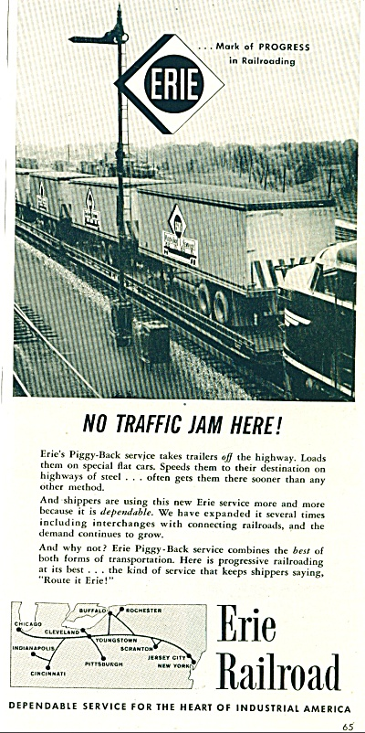 Erie Railroad ad - 1956 (Image1)