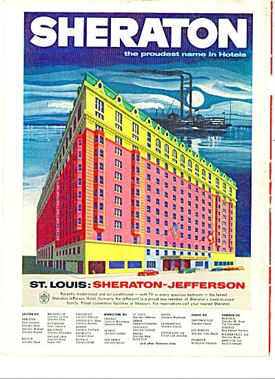 Sheraton hotels ad - 1956 (Image1)